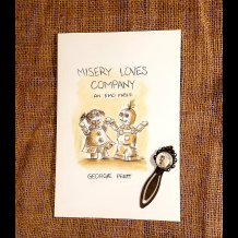 Misery Loves Company Book With Bookmark